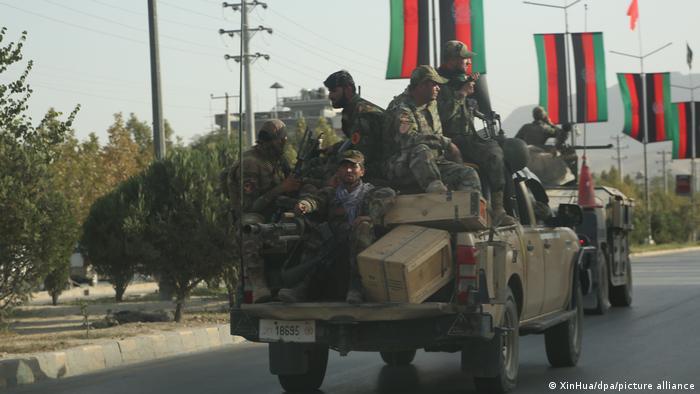 Автомобили на афганистанската армия