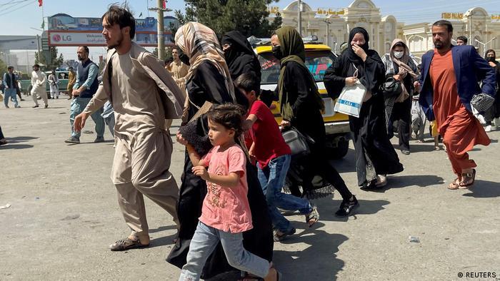 Chaos w Kabulu po inwazji talibów