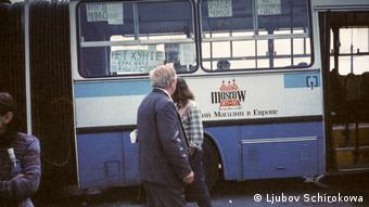 На улицах Москвы во время августовского путча