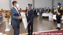 The Ethiopian Sports Commission has apologized for the poor performance of the Tokyo 2020 Olympics 15.08.2021 The commissioner of the commission, Elias Shikur, said at a ceremony held in Hawassa last night, as compared to the victory we have won in previous Olympic , the Tokyo result makes dissatisfaction to both the people and us. Money and land prizes were awarded to the four athletes and coaches who won medals at yesterday's 15.08.2021 event.