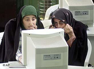 Im Web im Iran