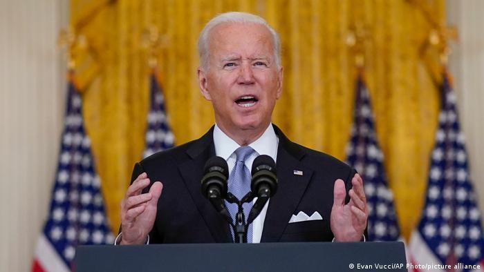Washington Rede Präsident Biden Aghanistan
