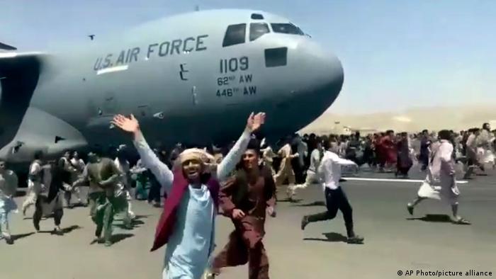 Afghanistan Kabul Flughafen Evakuierungen Chaos