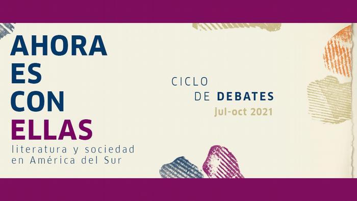 Flyer Goethe Institut Buenos Aires Ahora es con ellas