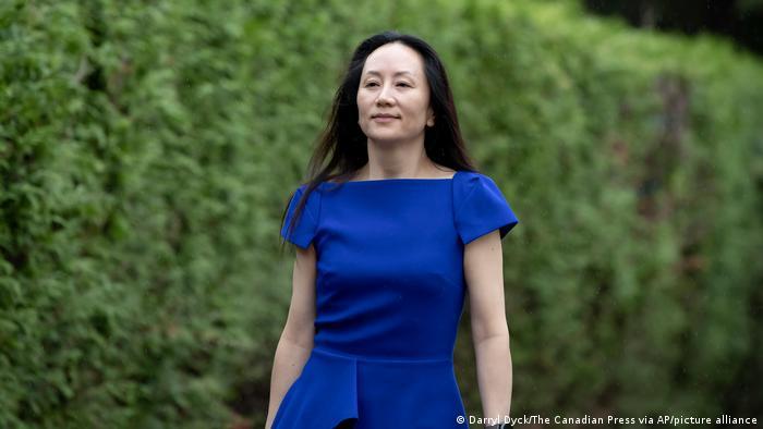 Vancouver Meng Wanzhou Anhörung Auslieferung