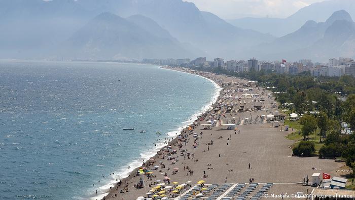 Türkei Antalya Küste Tourismus Strand