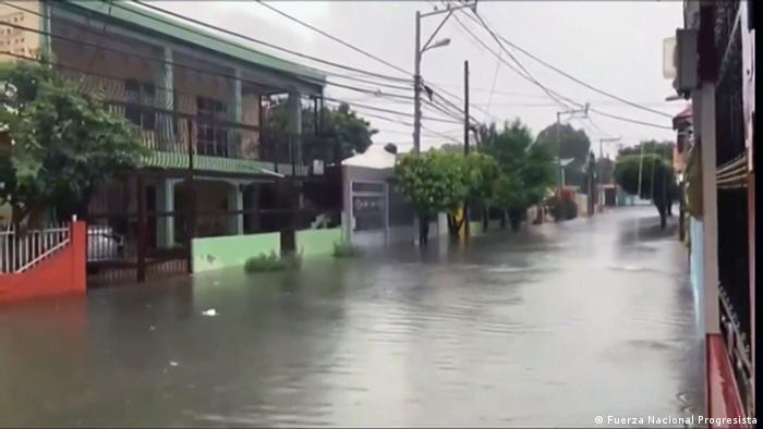 Inundaciones en Santo Domingo por las lluvias
