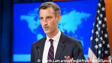 US | Ned Price Sprecher des Außenministeriums