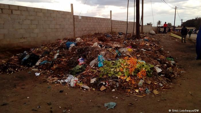 Mosambik Stadtviertel Namicopo