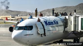Afghanistan Bildergalerie Kabul Flughafen Evakuierung