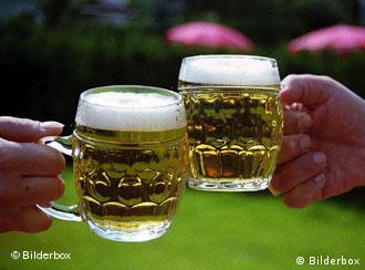 Alemães consumiram mais de 44 milhões de hectolitros no primeiro semestre de 2005