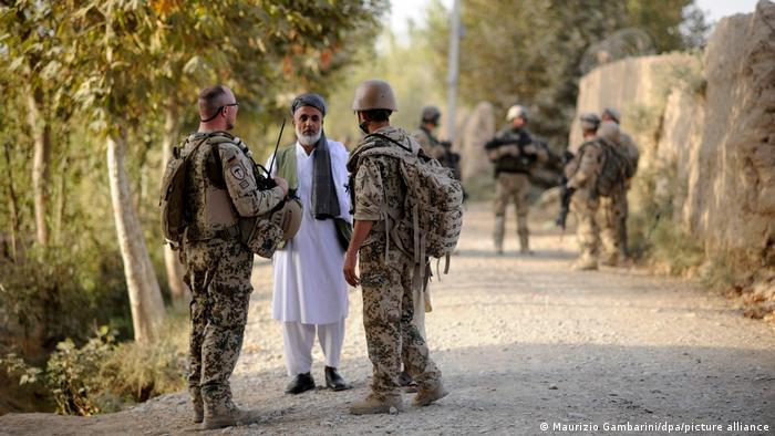 Afghanische Ortskräfte