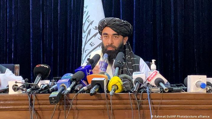 Afghanistan PK der Taliban   Zabihullah Mujahid