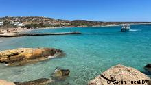 The waters of the Cycladic island of Ano Koufonisia draw tourists from around the world.
