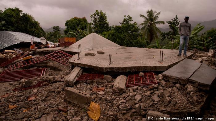 Haiti   Tropensturm Grace nach Erdbeben