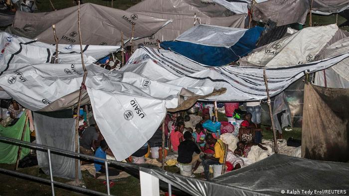 Haiti:Nach dem Erdbeben suchte der Tropensturm Grace die verwüstete Insel heim