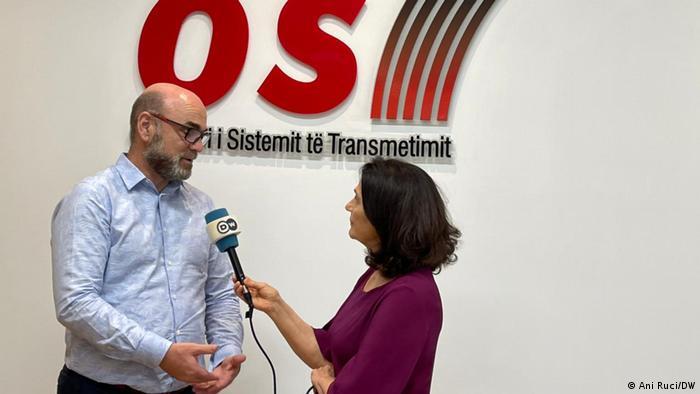 Albanien   Skerdi Drenova im DW Interview