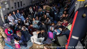 Афганцы, которых эвакуировали из страны самолетами бундесвера