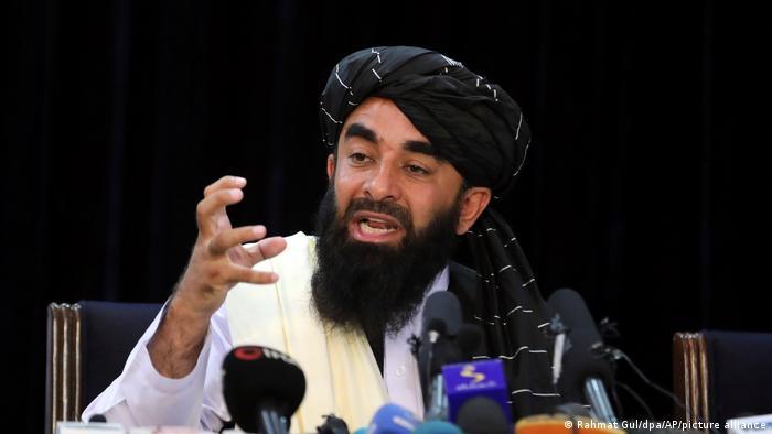 Afganistan, Konferencë shtypi e zëdhënësit të talibanëve