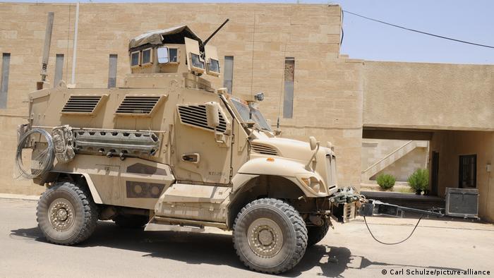Un MaxxPro desplegado en Irak en 2008.