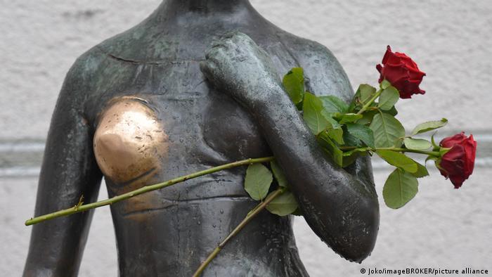 Статуя Джульєтти у Мюнхені