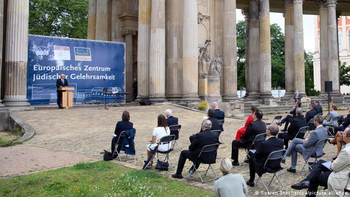 Potsdam   Europäisches Zentrum für Jüdische Gelehrsamkeit eröffnet: Frank-Walter Steinmeier