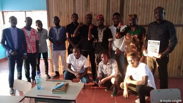 Angola Cabinda | Mitglieder des Aktivisten-Nukleus von Cabinda (NAC)