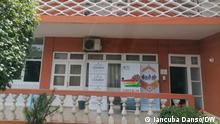 Hauptsitz der Hohen Kommission für Covid-19 in Bissau. Fotograf: Iancuba Dansó / DW Datum: 18.08.2021
