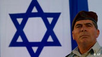 Israeli Army Chief of Staff Gaby Ashkenazi are seen during a national security college graduation ceremony at the Hebrew University in Jerusalem, Tuesday, July 27, 2010. In a surprise visit to Amman on Tuesday, Israel's prime minister tried to mobilize Jordan's king in his effort to persuade the Palestinians to resume direct peace talks, though the chief Palestinian negotiator again rejected the idea. (AP Photo/Bernat Armangue)