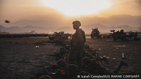 US-Soldaten am Flughafen Kabul