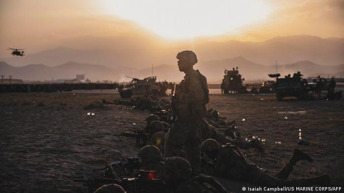 Soldados en Kabul.