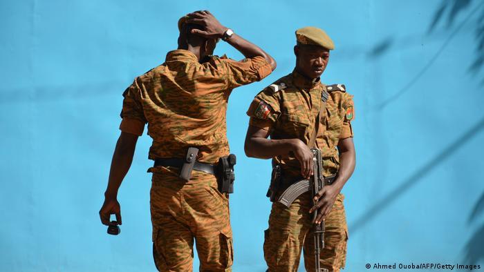 Symbolbild I Sicherheitskräfte Burkina Faso