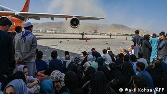 Αφγανοί, αεροδρόμιο Καμπούλ