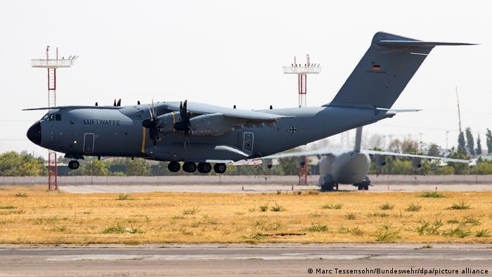 Afghanistan I Evakuierungsflüge aus Kabul