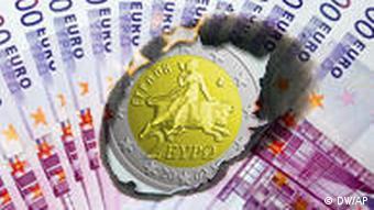 Symbolbild Finanzkrise Griechenland