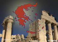 Symbolbild Finanzkrise Griechenland.  Dw-Grafik: Per Sander 2010_08_11_symbolbild_finanzkrise_griechenland.psd