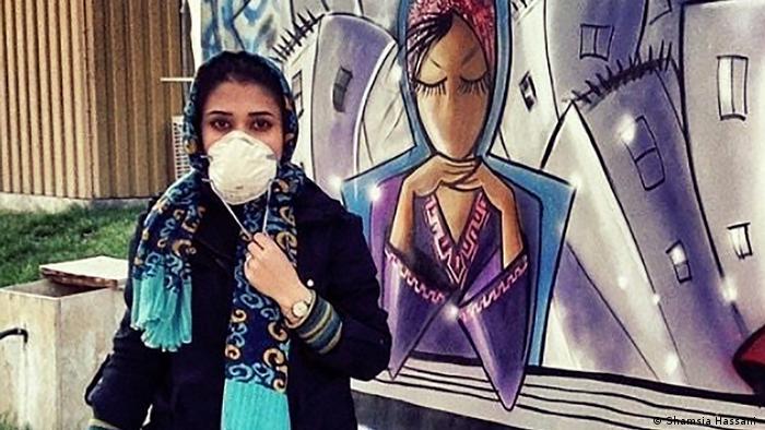 Shamsia Hassani Afghanistan Künstlerin