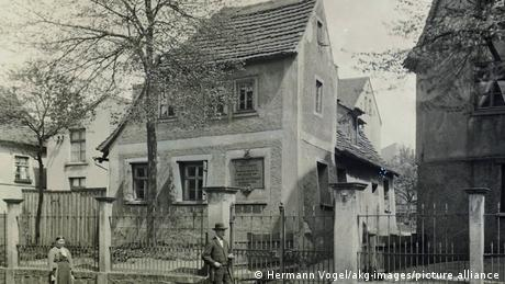 Дом-музей Шиллера в Лейпциге, 1895 год