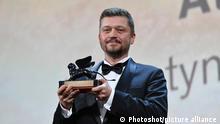 Orizzonti Award to Valentyn Vasyanovych Closing ceremony of the 76th edition of the Venice Film Festival, Venice, Italy 7 Sep 2019