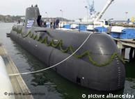زیردریایی ساخت آلمان برای فروش به یونان
