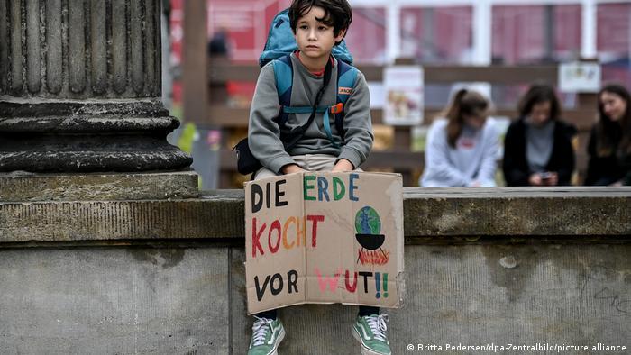 Deutschland, Potsdam | Fridays for Future Klimaprotest