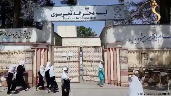 Afghanistan, Herat | Mädchen gehen wieder in die Schule