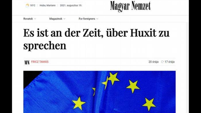 Njemačka verzija članka: Vrijeme je za razgovor o Huxitu