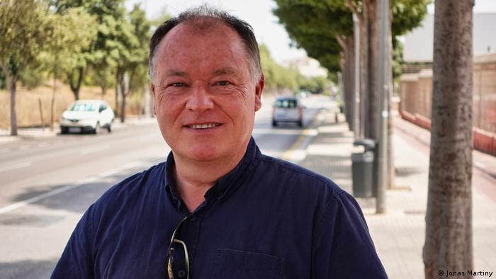 Portrait of tourist guide Paul Patrovsky