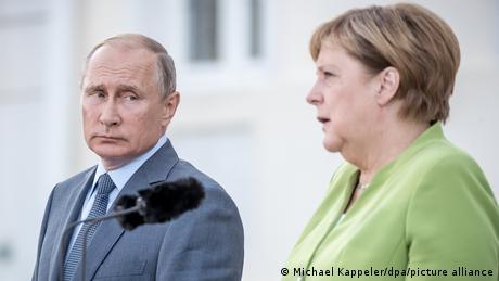 Angela Merkel und Vladimir Putin