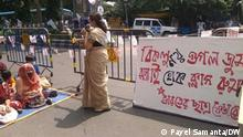 Description: Teachers of many institution are taking class on the road as a part of their protest to open the school, college immediately. Students are attending open classroom in various location. Keywords: school, college, university, student, teacher, covid, pandemic, open classroom, sfi . Copyright: Payel Samanta
