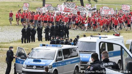 Fan rights in Germany: Police databases, surveillance and civil rights protests