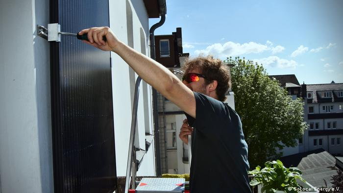 Deutschland I Balkonmodul, Solarstrom selber machen I SoLocal