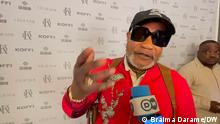 Koffi Olomide, musician from the Democratic Republic of Congo. Photo Author: Braima Darame, DW Location: Cologne, Germany Date: 19.08.2021