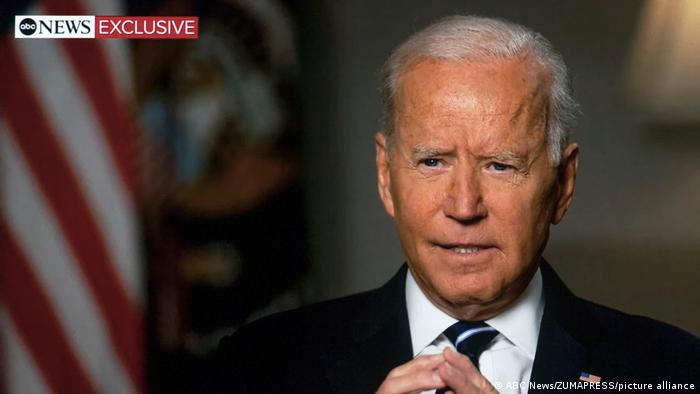 President Joe Biden defends his decision to withdraw from Afghanistan during an interview with ABC News